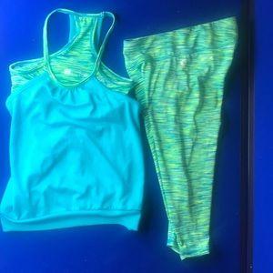 Other - XERsION leggings & top set